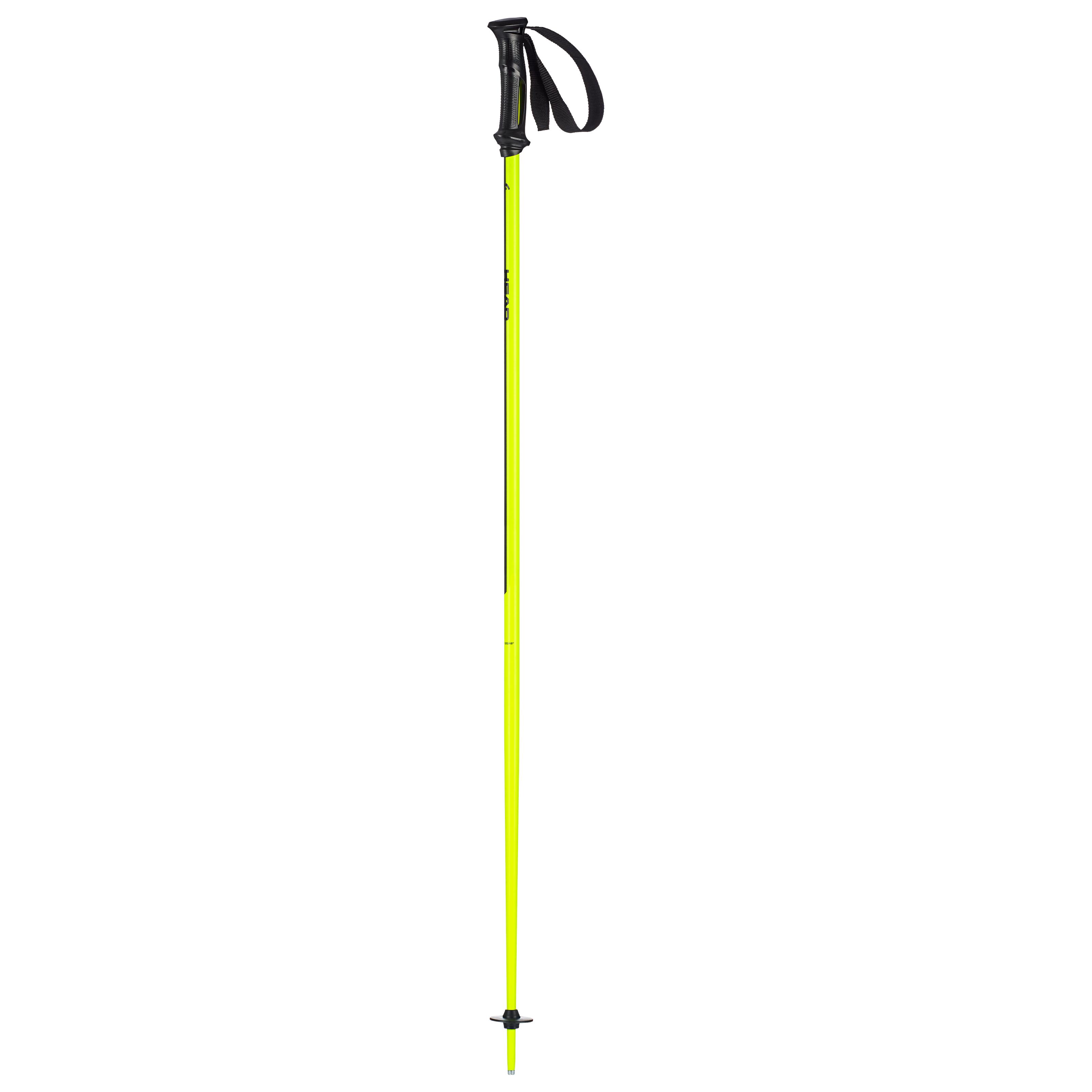 Head MULTI, skijaški štapovi, žuta