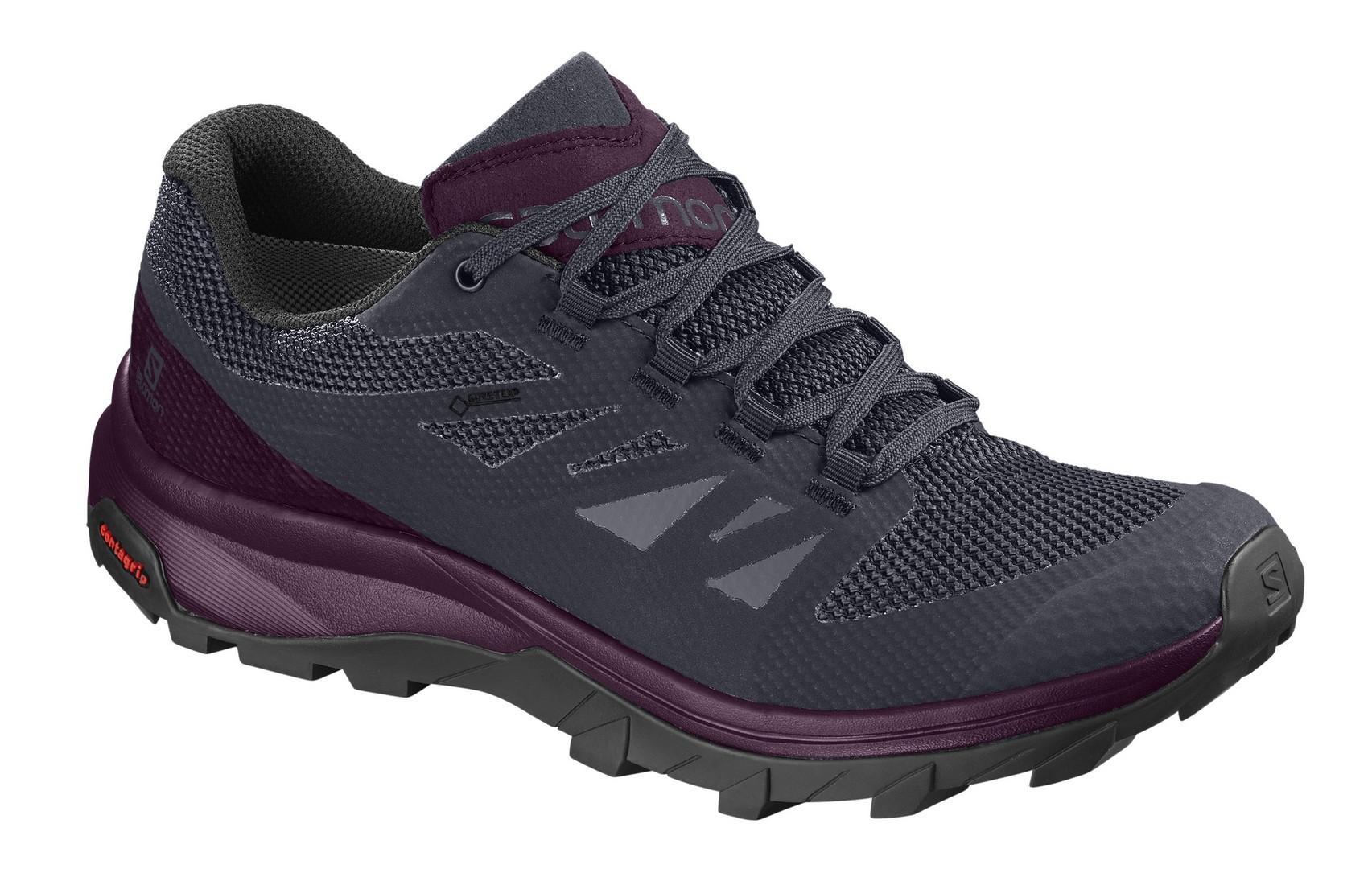Salomon OUTLINE GTX® W, planinarske cipele, ljubičasta