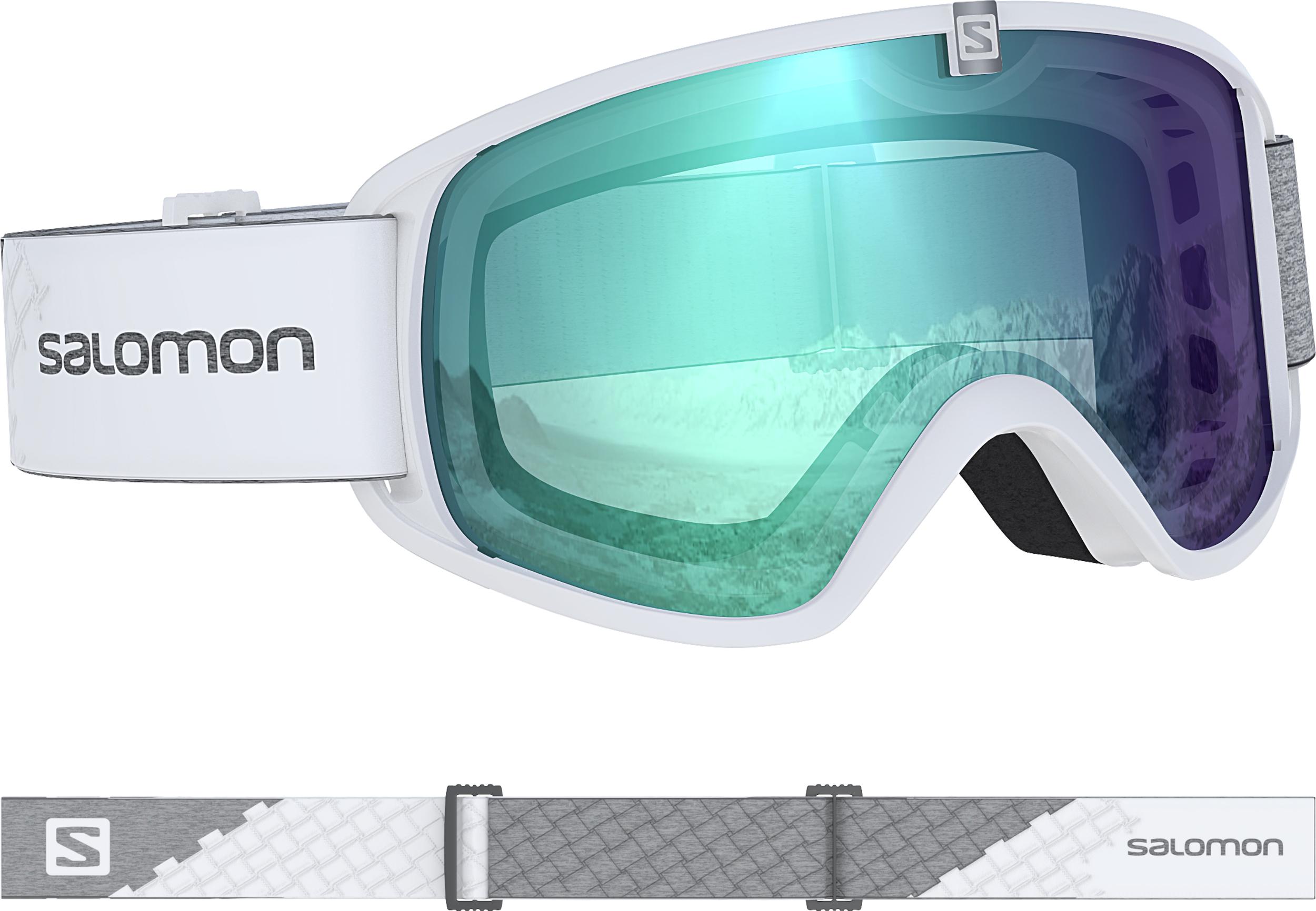 Salomon FORCE PHOTO, skijaške naočale, bijela