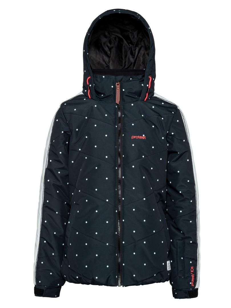 Protest TURN JR, dječija skijaška jakna, crna
