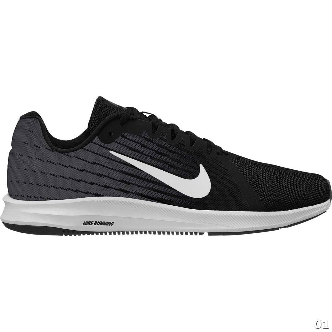 Nike NIKE DOWNSHIFTER 8, muške patike za trčanje, crna