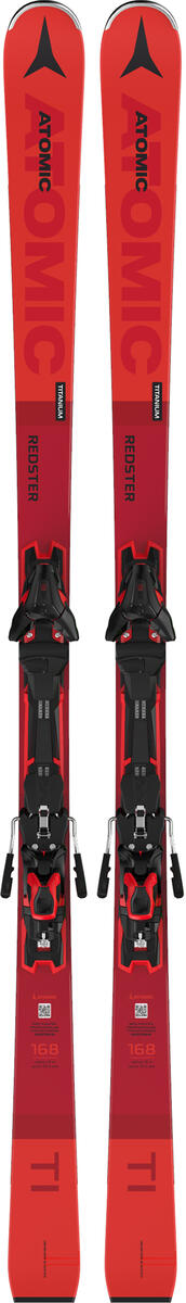 Atomic REDSTER TI + FT12 GW, set skija allround, crvena
