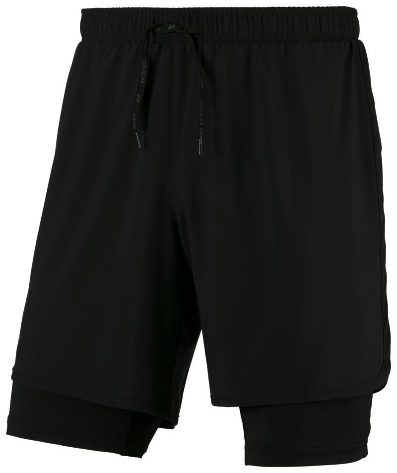 Pro Touch ALLEN III UX, muške kratke hlače za trčanje, crna