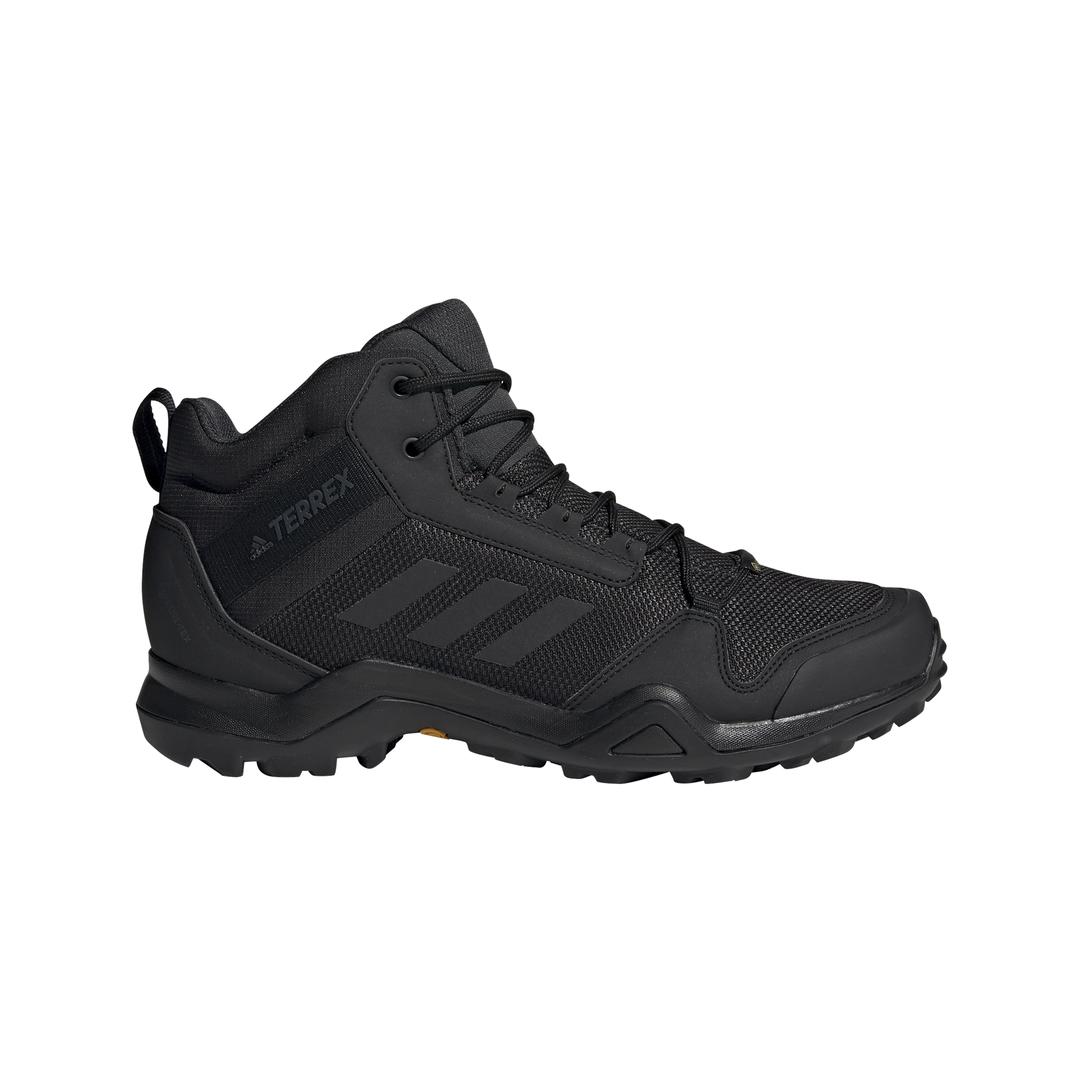 adidas TERREX AX3 MID GTX, muške plannarske cipele, crna