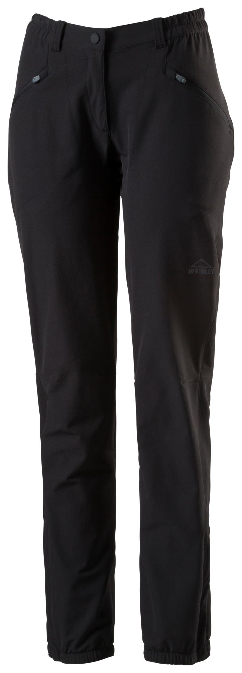 McKinley BEIRA III WMS, ženske planinarske hlače, crna