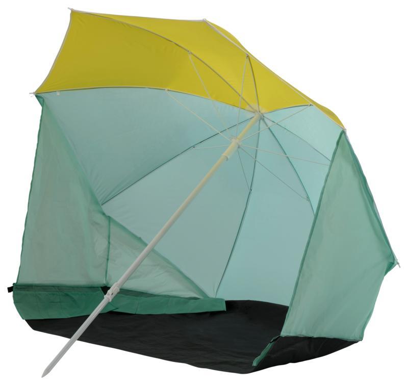 McKinley BRELLA, plažni šator, žuta