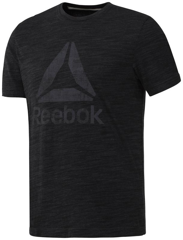 Reebok CY4871, muška majica za fitnes, crna