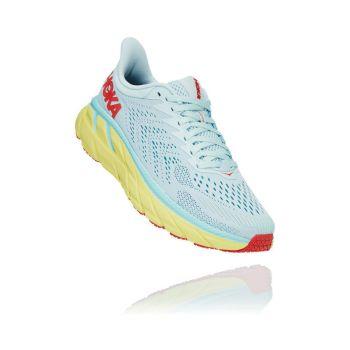 Hoka One One CLIFTON 7 W, ženske patike za trčanje, plava