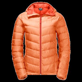 Jack Wolfskin HELIUM W, ženska jakna za planinarenje, narandžasta