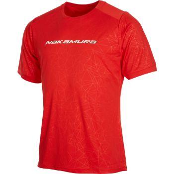Nakamura MTB JERSEY, muška majica za biciklizam, crvena
