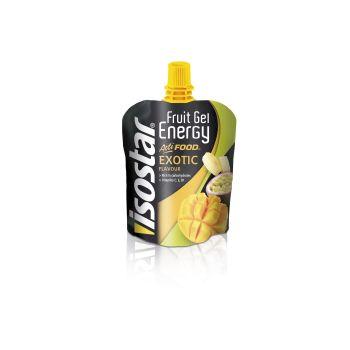 Isostar FRUIT ENERGY GEL EXOTIC 90G, sportska prehrana, multikolor