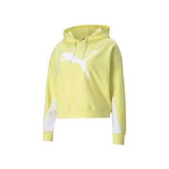 Puma MODERN SPORTS HOODIE, ženski pulover, žuta