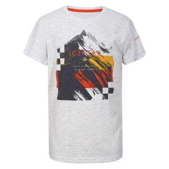 Icepeak KERENS JR, dječija majica za planinarenje, bijela