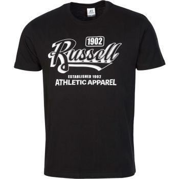 Russell Athletic 1902   S/S  CREWNECK TEE SHIRT, muška majica, crna