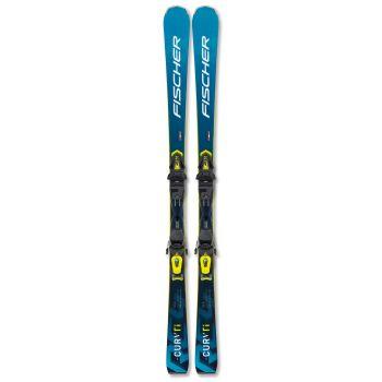 Fischer RC4 THE CURV TI WS AR + RC4 Z11 PR, set skija ženski