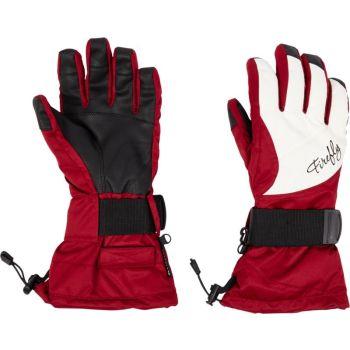 Firefly AZURA  II WMS, ženske rukavice za snowboard, crvena