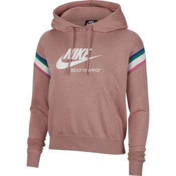 Nike W NSW HRTG PO HOODIE, ženski pulover, roza