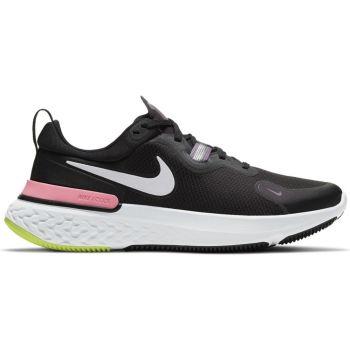 Nike WMNS REACT MILER, ženske patike za trčanje, crna