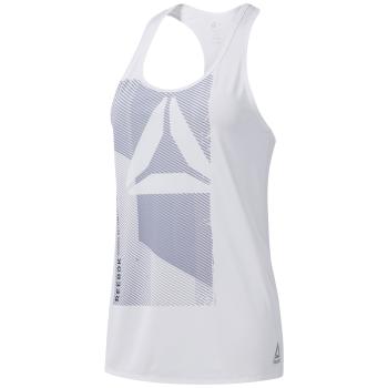 Reebok OST AC GRAPHIC TANK, ženska majica za fitnes, bijela