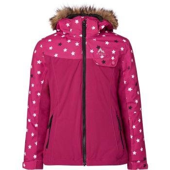 McKinley ELISABETH GLS, dječija skijaška jakna, roza