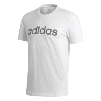 adidas E CAMO LIN TEE, muška majica za fitnes, bijela
