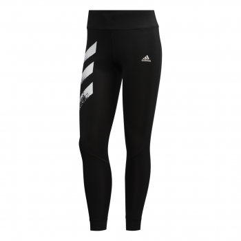 adidas OWN THE RUN TGT, ženske helanke za trčanje, crna