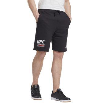 Reebok UFC FG FIGHT WEEK SHORT, muške fitnes hlače, crna