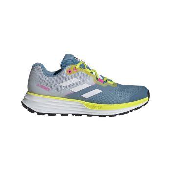 adidas TERREX TWO FLOW W, ženske patike za trail trčanje, plava