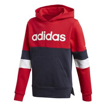 adidas YB LIN CB HD FL, dječiji pulover, crvena