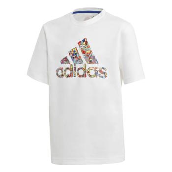 adidas B ART TEE, dječija majica za fitnes, bijela