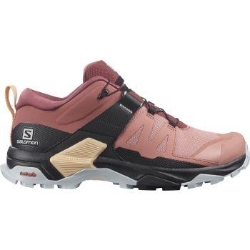 Salomon X ULTRA 4 W, planinarske cipele, crvena
