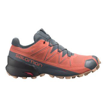 Salomon SPEEDCROSS 5 GTX W, ženske patike za trčanje, crvena