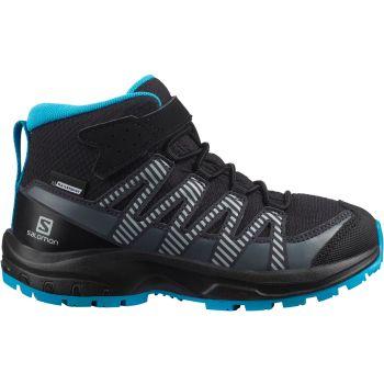Salomon XA PRO 3D V8 MID CSWP K, dječije planinarske cipele, crna