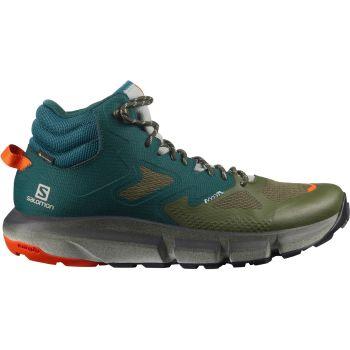 Salomon PREDICT HIKE MID GTX, muške plannarske cipele, zelena