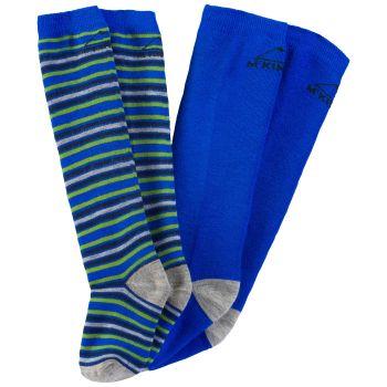 McKinley RIGO JRS 2-PACK MCK, dječije skijaške čarape, plava