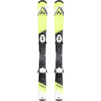 McKinley TEAM 7 JT, set skija dječiji, žuta