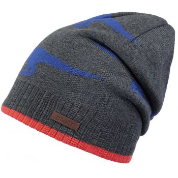 Barts THORN BEANIE DARK HEATHER 53- 55, dječija kapa, multikolor