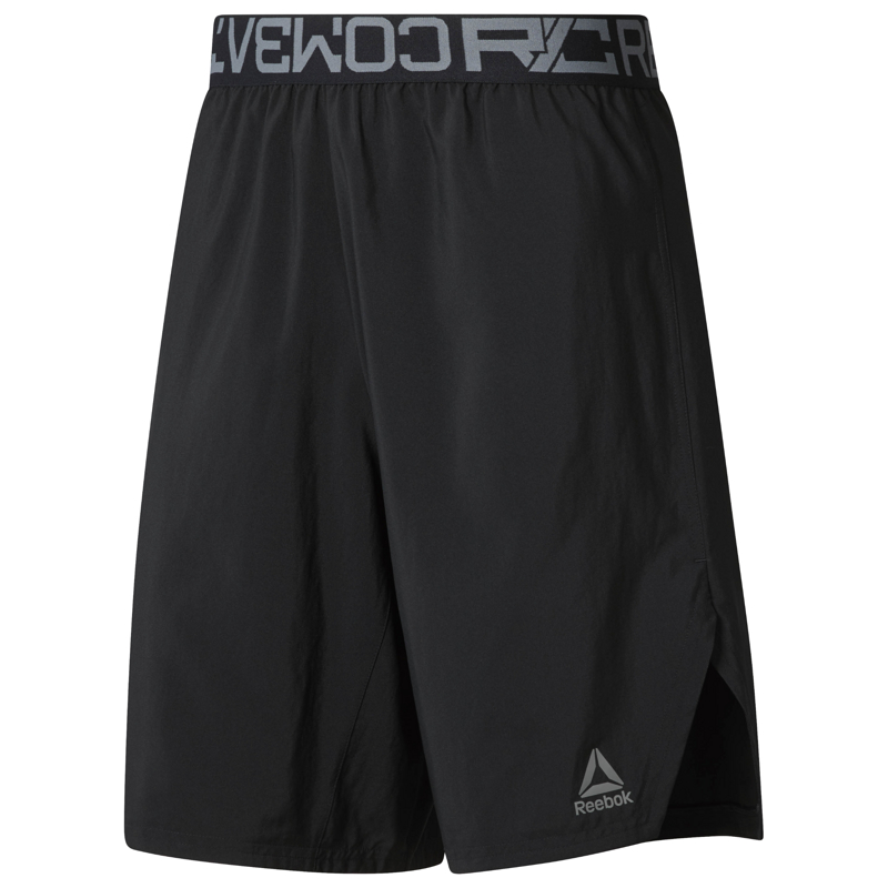 Reebok D96021, muške fitnes hlače, crna