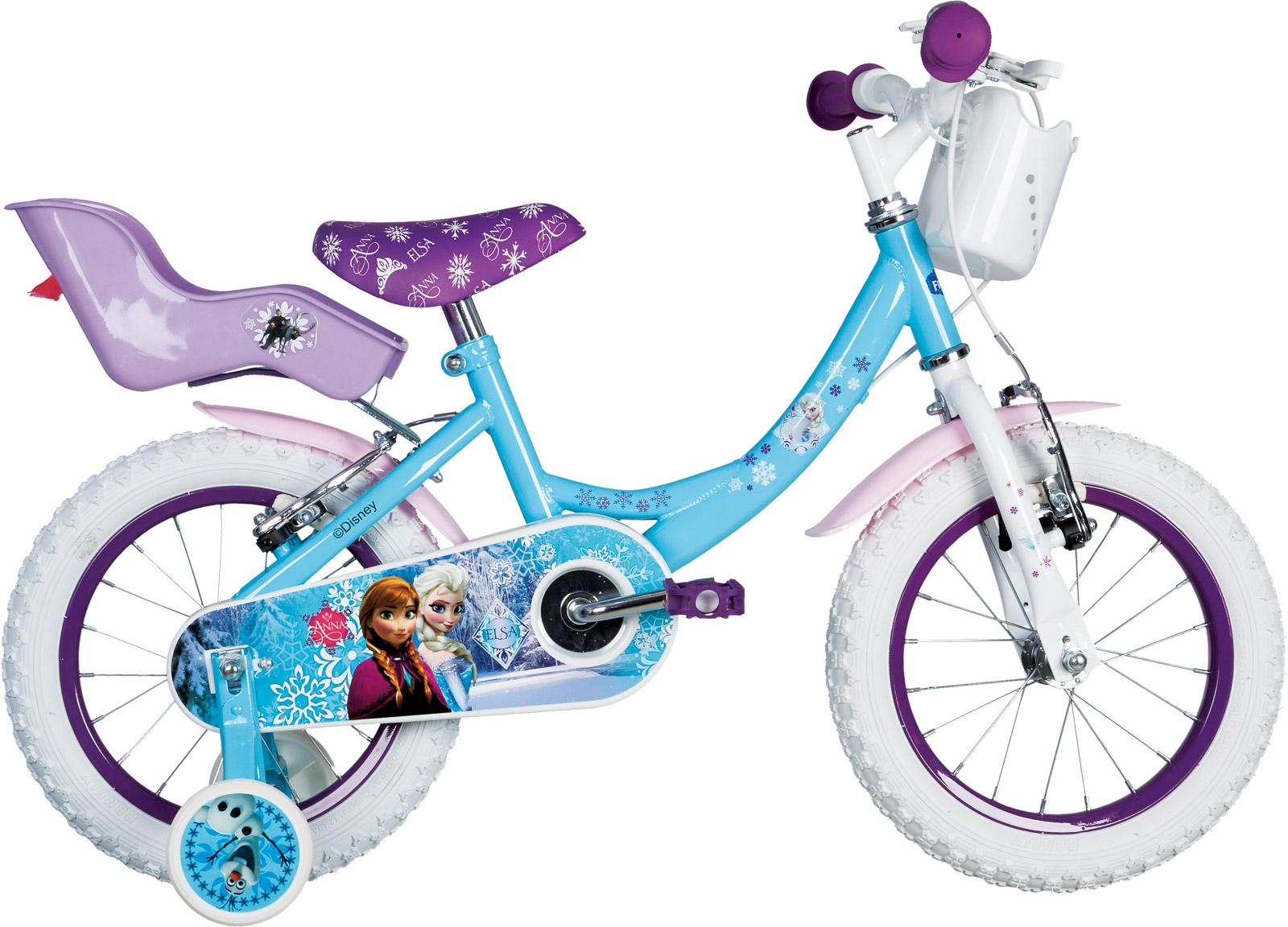 Frozen FROZEN 14, dječiji prsluk bicikl, plava