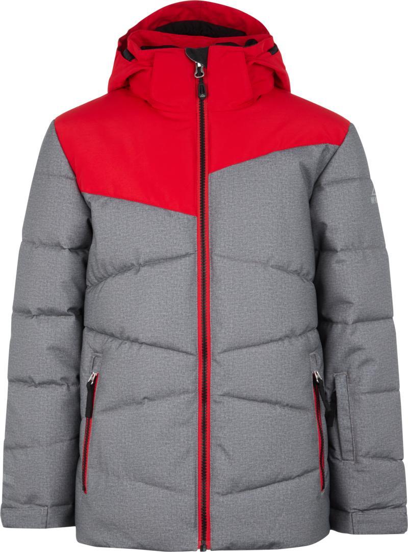 McKinley EGON JRS, dječija skijaška jakna, crvena