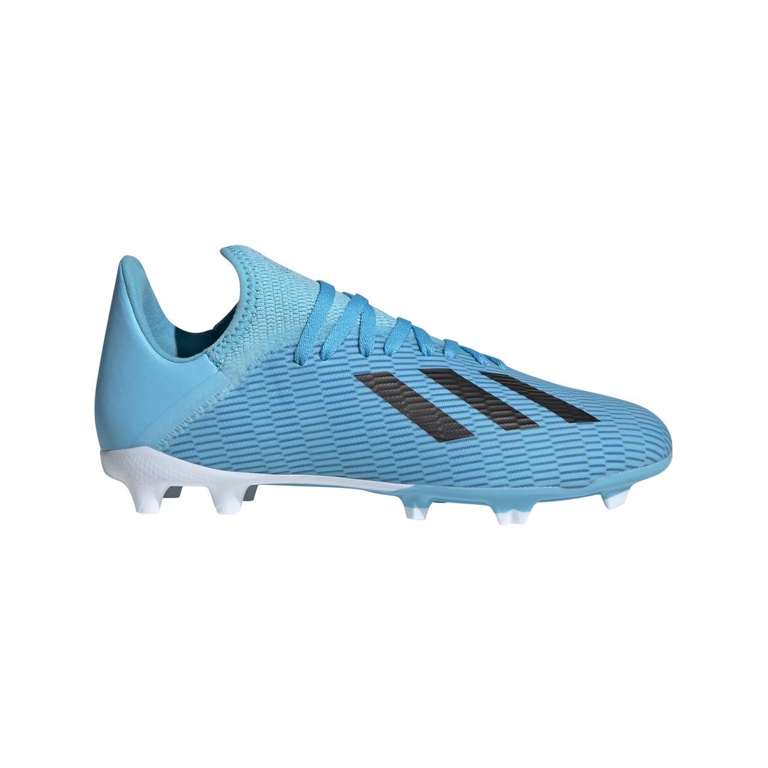 adidas X 19.3 FG J, dječije kopačke za nogomet, plava