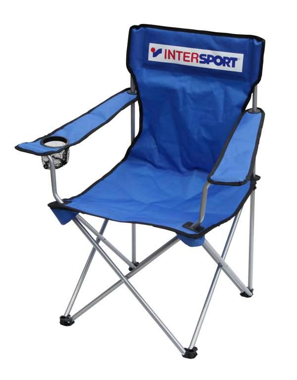 Intersport STOL KAMP. INTERSPORT BLUE, stolica kamp, plava