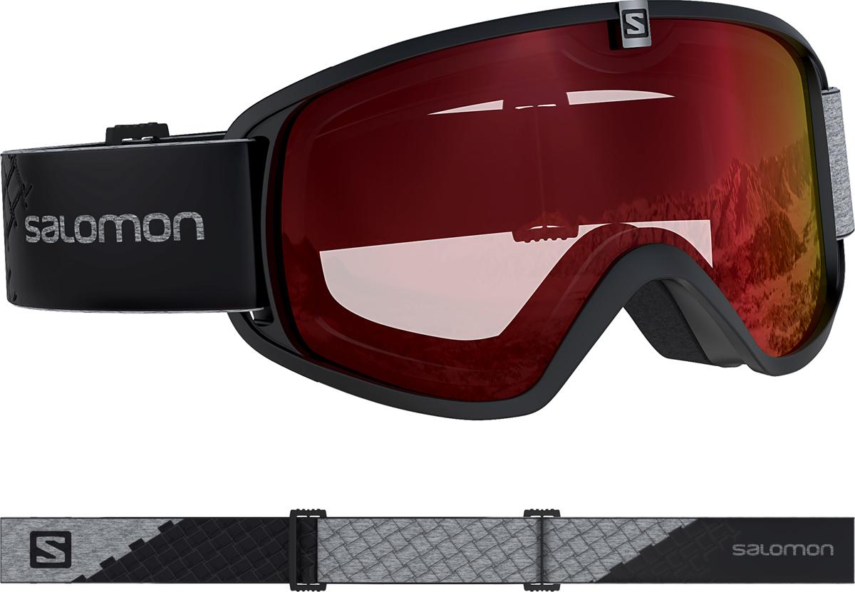 Salomon FORCE PHOTO, skijaške naočale, crna
