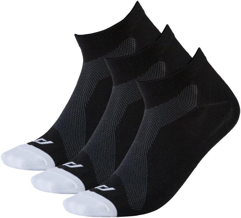 Pro Touch LAKIS UX 3-PCK, muške čarape za trčanje, crna