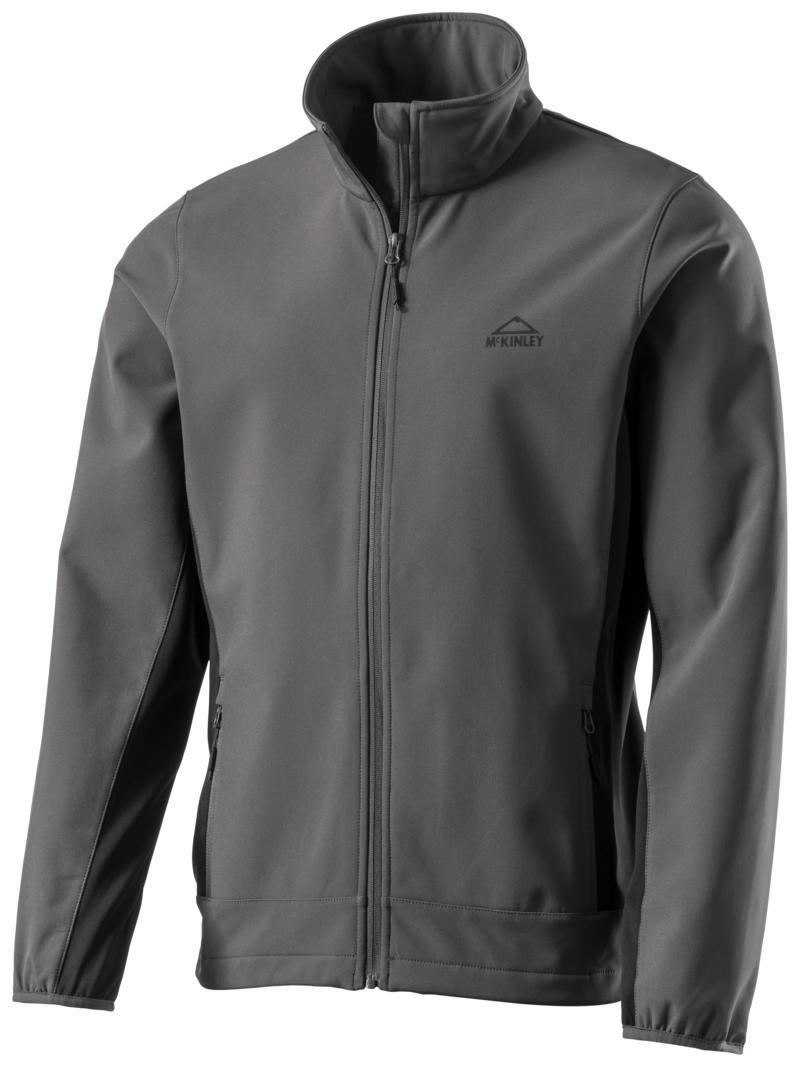 McKinley LUSAKA II UX JKT, muška jakna za planinarenje, crna
