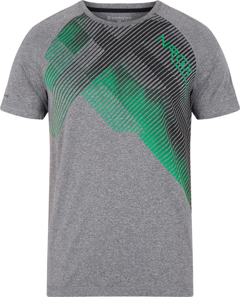 Energetics MASSIMO III UX, muška majica za fitnes, siva