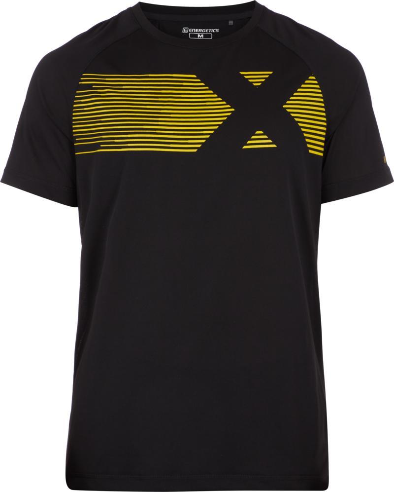 Energetics MASSIMO III UX, muška majica za fitnes, crna