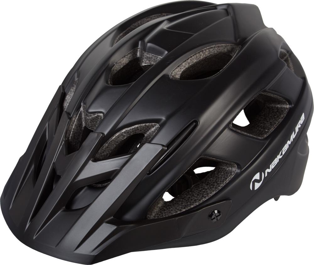 Nakamura HB 3-5, biciklistička kaciga, crna