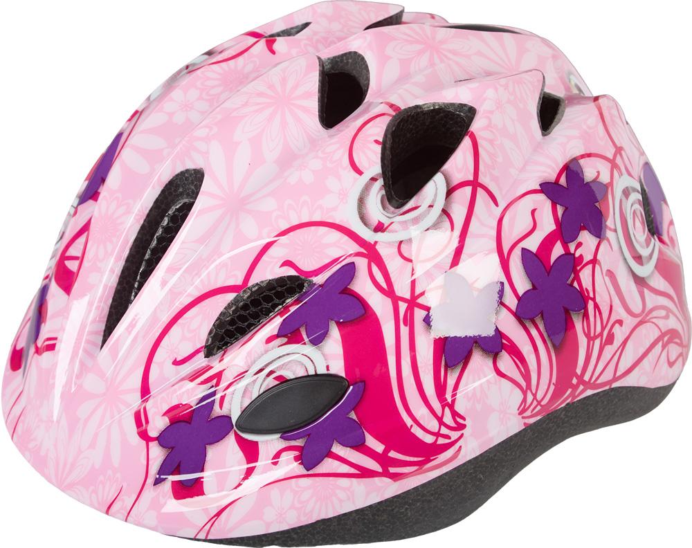 Nakamura HB 6-5, dječija biciklistička kaciga, roza