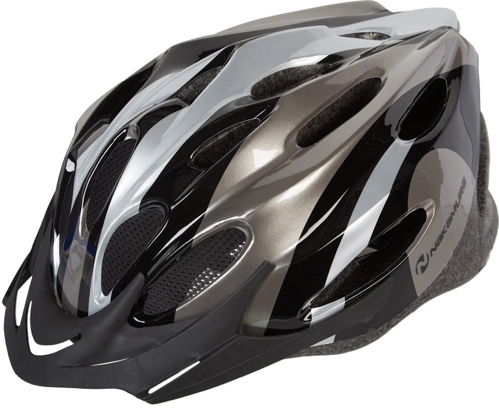 Nakamura MV 20, biciklistička kaciga, crna